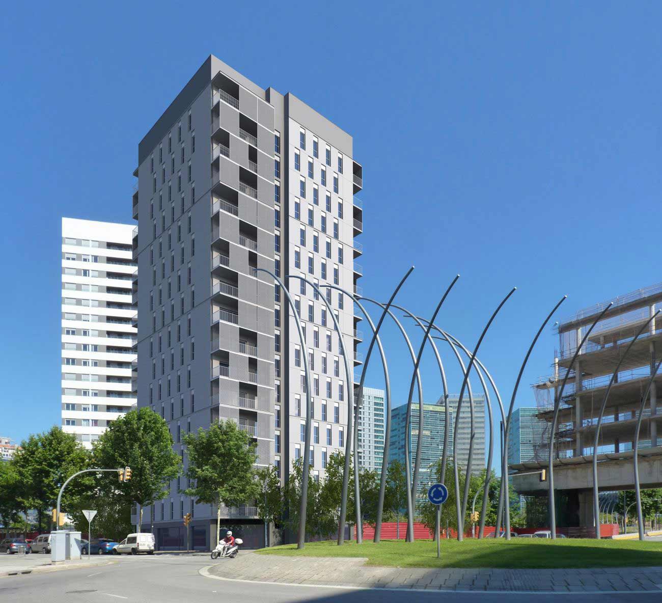 ADEMÀ CANELA COMELLA Arquitectes Associats S.L.P: Torre Neinor