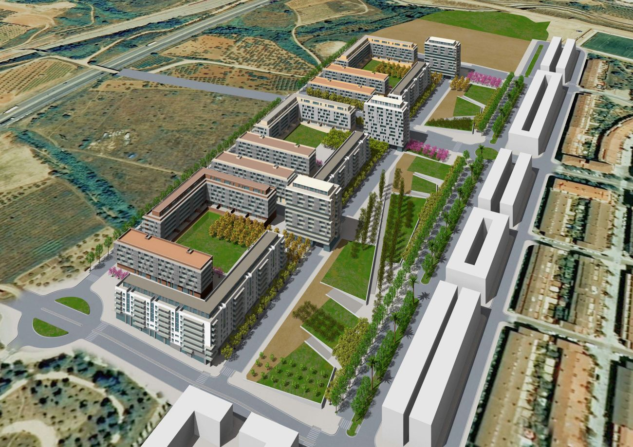 ADEMÀ CANELA COMELLA Arquitectes Associats S.L.P: Plan Parcial La Sínia I en Martorell