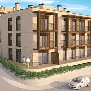 ADEMÀ CANELA COMELLA Arquitectes Associats S.L.P: Edificios de viviendas en Cabrera de Mar