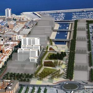 ADEMÀ CANELA COMELLA Arquitectes Associats S.L.P: Conjunto edificatorio en Port Badalona