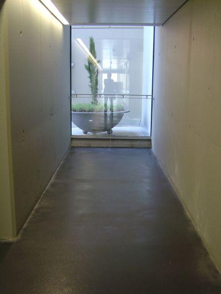 PAVINDUS, S.A.: Pavimento multicapa cuarzo color