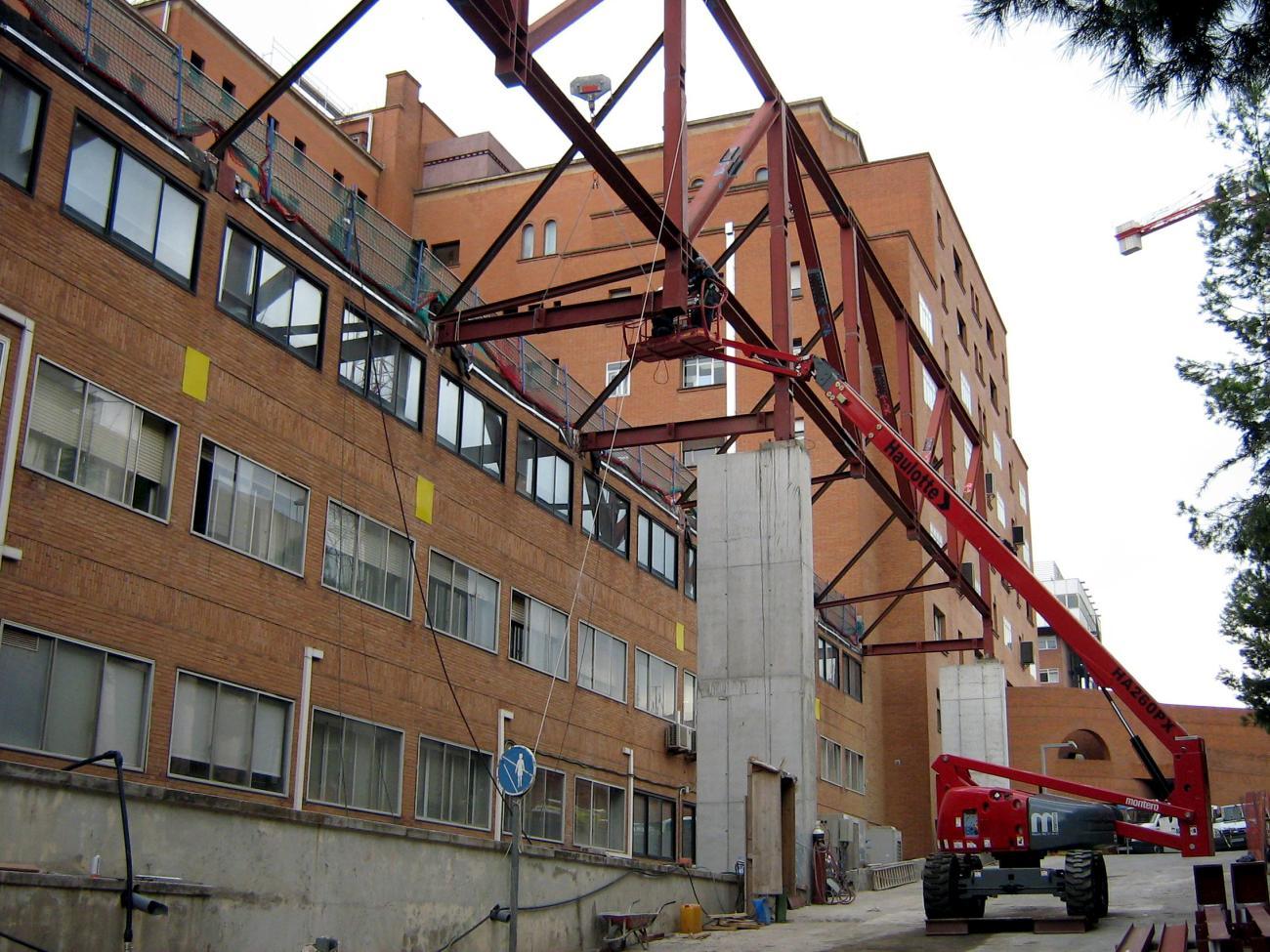 STEEL INNOVATION: HOSPITAL DE LA VALL D'HEBRON